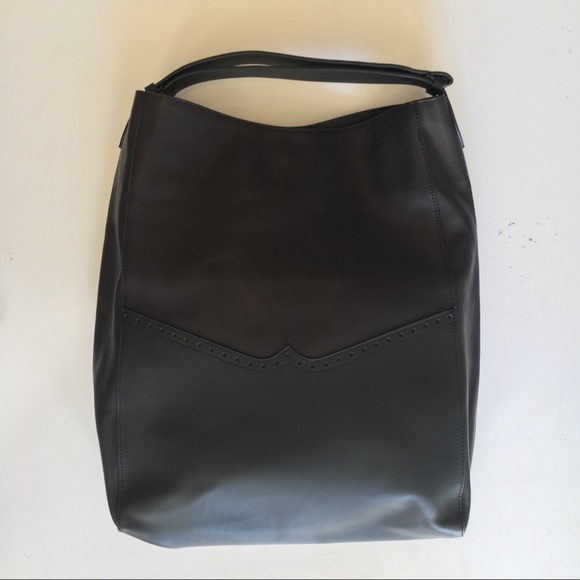 NEW Marni calf leather shoulder bag 2 tone black afc9a552fabea